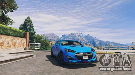 Hyundai Genesis 2013 v0.1 for GTA 5
