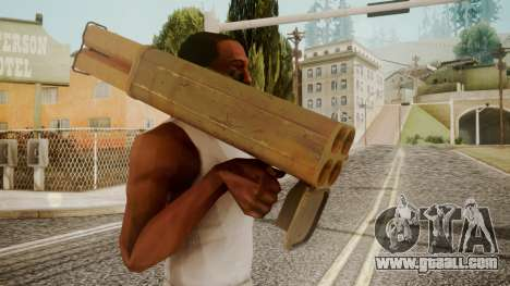 Rocket Launcher by catfromnesbox for GTA San Andreas third screenshot