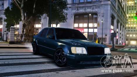 Mercedes-Benz E500 W124 for GTA 4 back left view