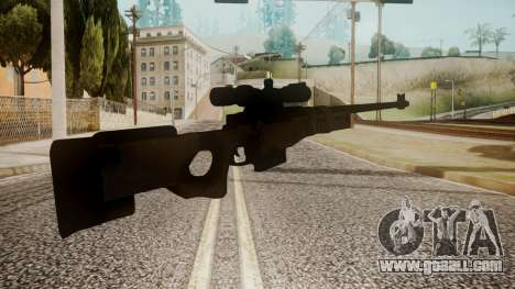 Sniper Rifle by catfromnesbox for GTA San Andreas second screenshot
