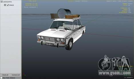 GTA 5 VAZ 2103 engine