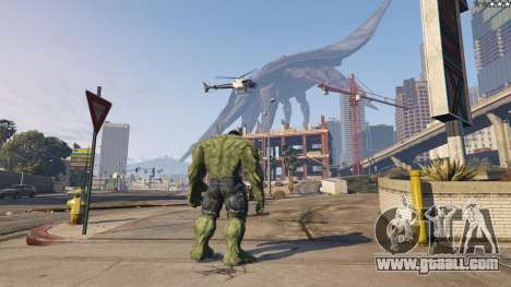 GTA 5 The Hulk fourth screenshot