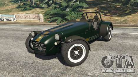 GTA 5 Caterham Super Seven 620R right side view