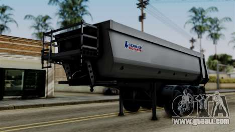 Schmied Bigcargo Solid Trailer Stock for GTA San Andreas