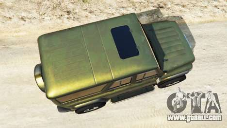 GTA 5 UAZ-3159 bars v2.0 back view