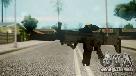 SCAR-L Custom for GTA San Andreas