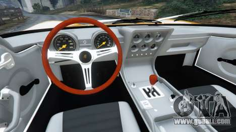 Lamborghini Miura P400 1967 for GTA 5