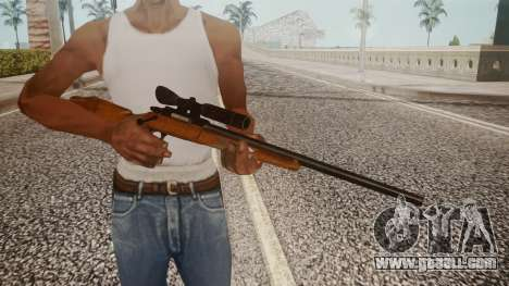 Low Poly Hunting Rifle for GTA San Andreas third screenshot
