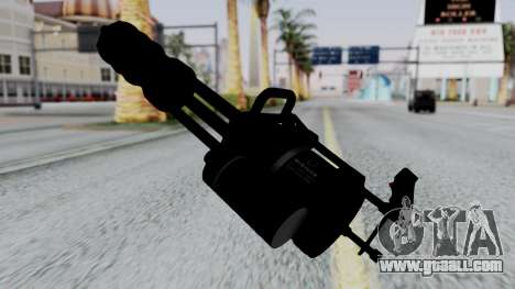M134 Minigun for GTA San Andreas second screenshot