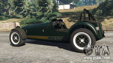 GTA 5 Caterham Super Seven 620R rear right side view