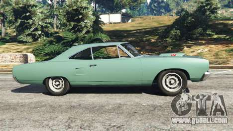 GTA 5 Plymouth Road Runner 1970 [fix] left side view