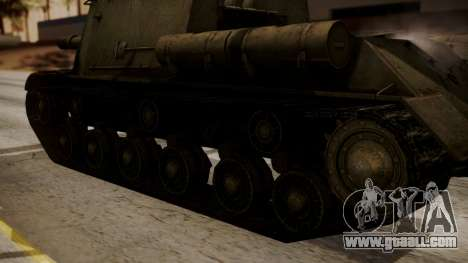 ISU-152 from World of Tanks for GTA San Andreas right view