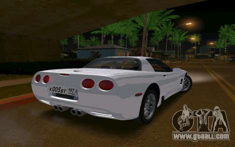 Chevrolet Corvette C5 2003 for GTA San Andreas left view