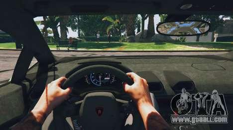 GTA 5 LibertyWalk Lamborghini Huracan back view