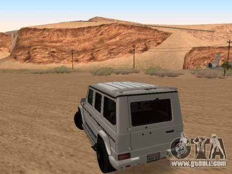 Mercedes-Benz G65 for GTA San Andreas left view
