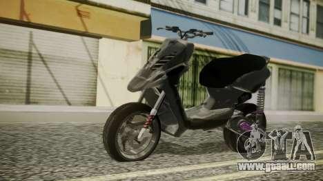 MBK Booster Rocket Tuning for GTA San Andreas