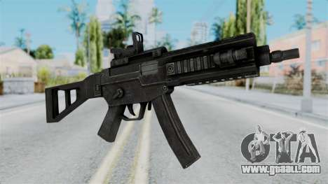 MP5 from RE6 for GTA San Andreas