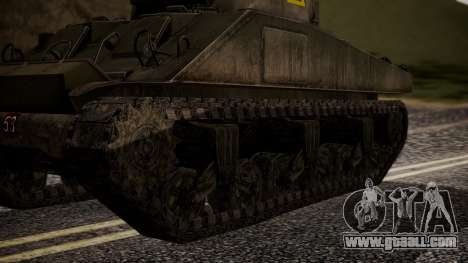 Sherman MK VC Firefly for GTA San Andreas back left view