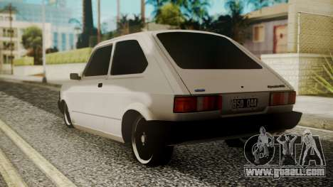 Fiat 147 Spazio-TR for GTA San Andreas left view