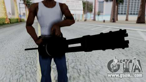 M134 Minigun for GTA San Andreas third screenshot