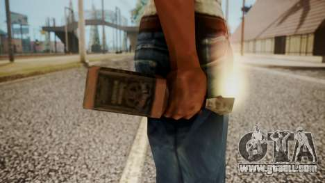 Molotov Cocktail from RE Outbreak Files for GTA San Andreas third screenshot