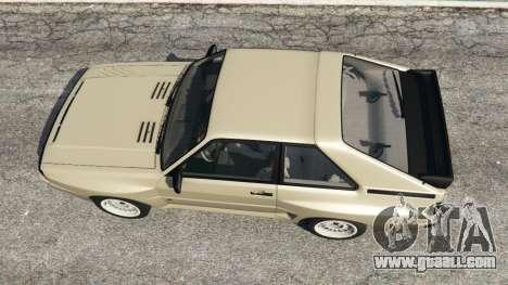 Audi Sport quattro v1.4 for GTA 5