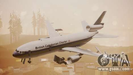 DC-10-30 British Caledonian Charter for GTA San Andreas