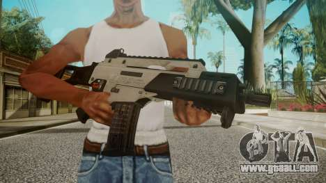 G36C Silver for GTA San Andreas third screenshot