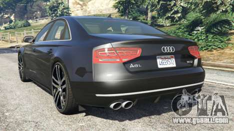 Audi A8 for GTA 5