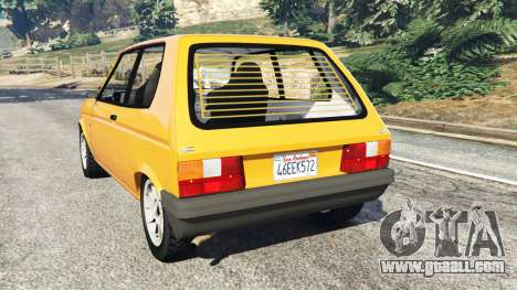 GTA 5 Talbot Samba rear left side view