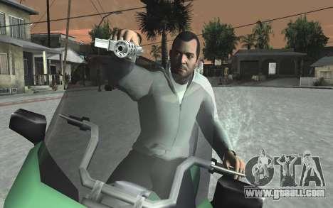 GTA 5 Tec-9 for GTA San Andreas tenth screenshot