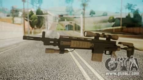 Sniper Rifle from RE6 for GTA San Andreas