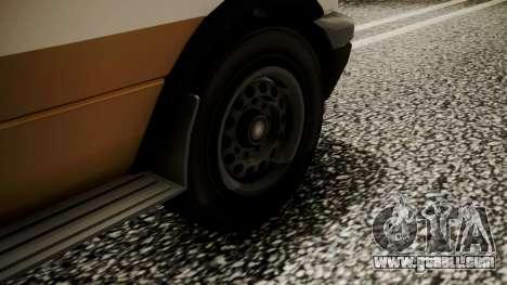 GTA 5 Brute Ambulance for GTA San Andreas back left view