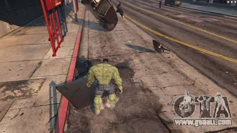 GTA 5 The Hulk eighth screenshot