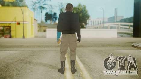 Venom Snake [Jacket] Hand of Jehuty Arm for GTA San Andreas third screenshot