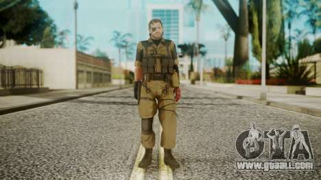 Venom Snake Olive Drab for GTA San Andreas second screenshot