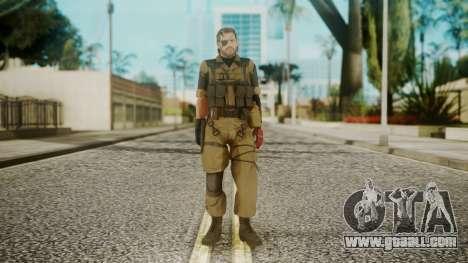 Venom Snake Olive Drab for GTA San Andreas second screenshot