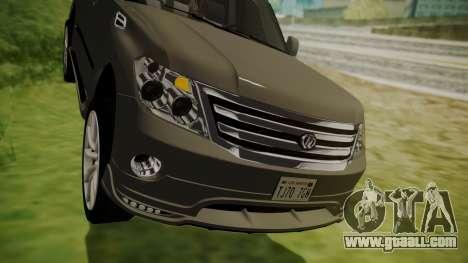 Nissan Patrol IMPUL 2014 for GTA San Andreas side view