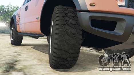 GTA 5 Ford F-150 SVT Raptor 2012 v2.0 right side view