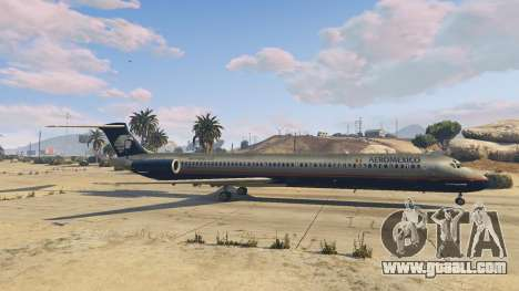 GTA 5 McDonnell Douglas MD-80 sixth screenshot