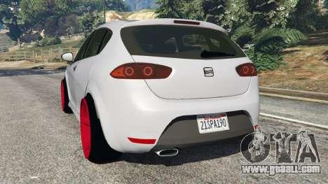 SEAT Leon II 2010 v1.1 for GTA 5