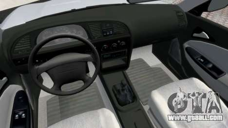 Daewoo Nubira II Sedan S PL 2000 for GTA 4 back view
