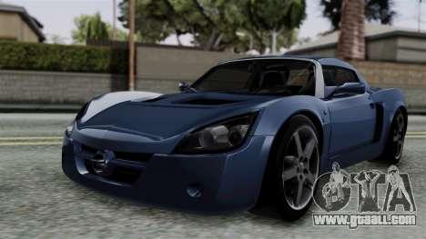 Opel Speedster Turbo 2004 Stock for GTA San Andreas