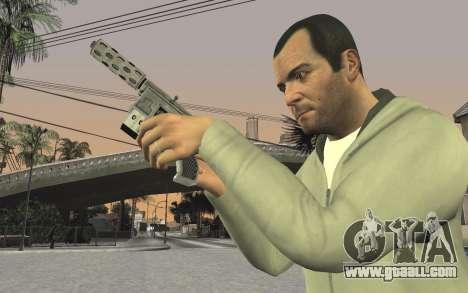 GTA 5 Tec-9 for GTA San Andreas eighth screenshot