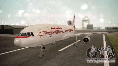 Lockheed L-1011 Air India for GTA San Andreas