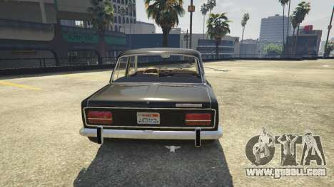 GTA 5 VAZ 2103 back view