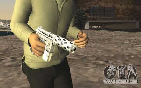 GTA 5 Tec-9 for GTA San Andreas third screenshot
