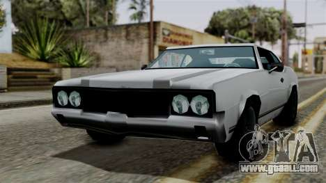 Sabre Turbo from Vice City Stories for GTA San Andreas back left view