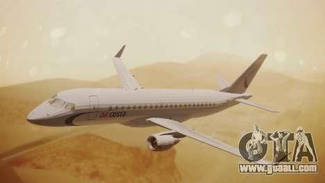 Embraer 170-100 Air Costa for GTA San Andreas