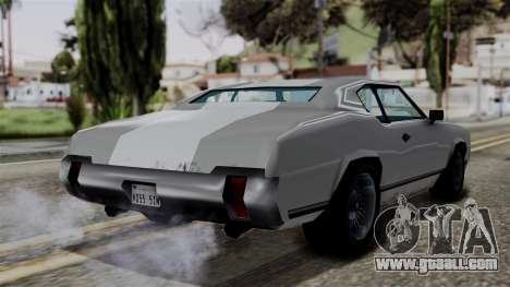 Sabre Turbo from Vice City Stories for GTA San Andreas left view